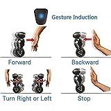 Lanlan Remote Control Smart Self Balancing Stunt Robot Toy Gift 5 Operating Modes RC/Gesture/Dancing/Loading/Boxing Blue