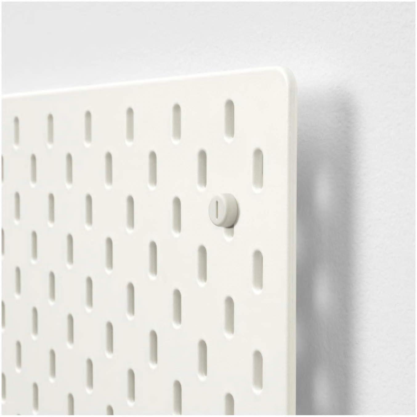 pintura acr/ílica de metal color blanco recubrimiento en polvo Tablero de clavijas material base: tablero de fibra My Stylo Collection partes: acero 56 x 56 cm