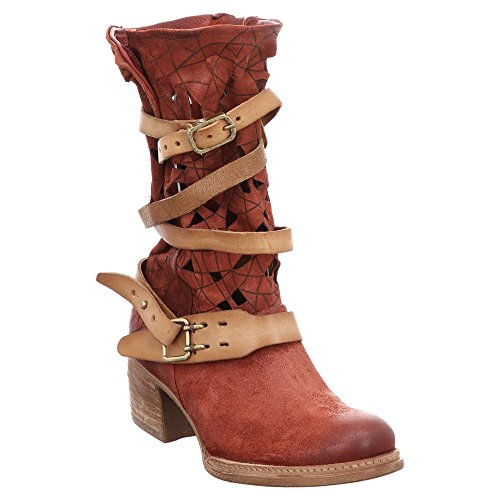 As98 As98 | Airstep | Cruz | Boots - Sangria | Rood Rood