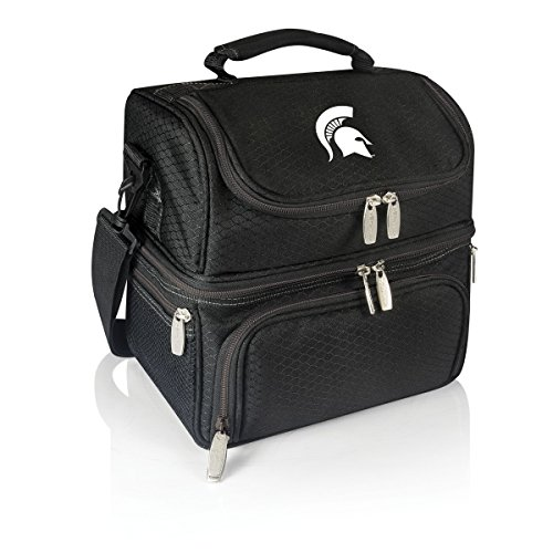 NCAA Michigan State Spartans Pranzo Insulated Lunch Tote, Black
