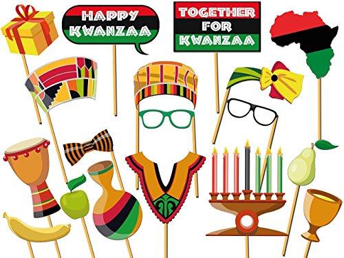(Custom Kwanzaa Photo booth prop- Size 36x24, Happy Kwanzaa, Party Photo Props, Kwanzaa photo booth, Holiday Photo Props, Kwanzaa photo props, Handmade Party Supply Photo Booth)