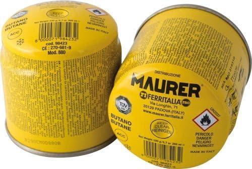 Cartucho de gas butano Maurer cartuchos ricarca botellas ...