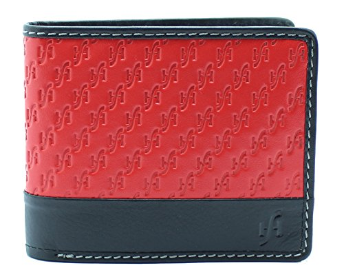 ed1ca765a930 StarHide Designer RFID Wallet For Men   Made From Real Leather and Superior  RFID Blocking Mat..