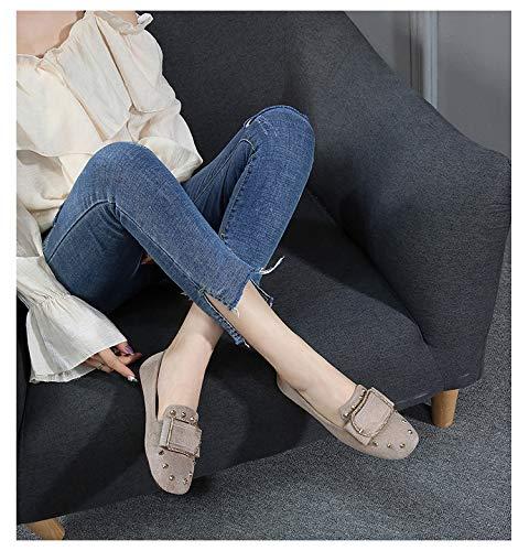 197a8697a24 Women s Rhinestone Chunky Block Mid Heel Pump Square Toe Office Slip-On Work  Office Dress