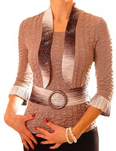 Poshtops - Camisas - para mujer marrón
