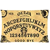 Ouija Board Twin Side Zippered Pillowcase,pillowcover 20 X 30 Inch, Birthday/Christmas/Thanksgiving gift