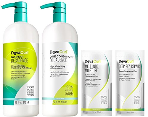 DevaCurl One Condition No-Poo Decadence 32oz DUO With FREE 1