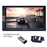 Navigation Seller- Privileged Sale New Brand (Mirror Link for GPS Android Phones) Bluetooth In-Dash Double Din 7 Inch Capacitive Touch Screen Car No-DVD Player Stereo Radio
