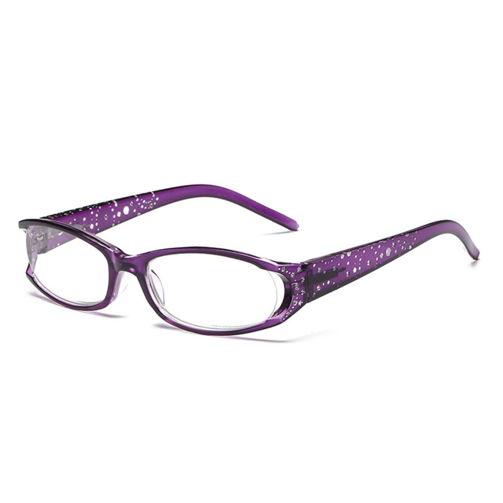 2.0 3.0 1.5 Oranmay Women Anti-fatigue Reading Glasses Elegant With Imitation Diamond 4.0 Diopter 2.5 1.0