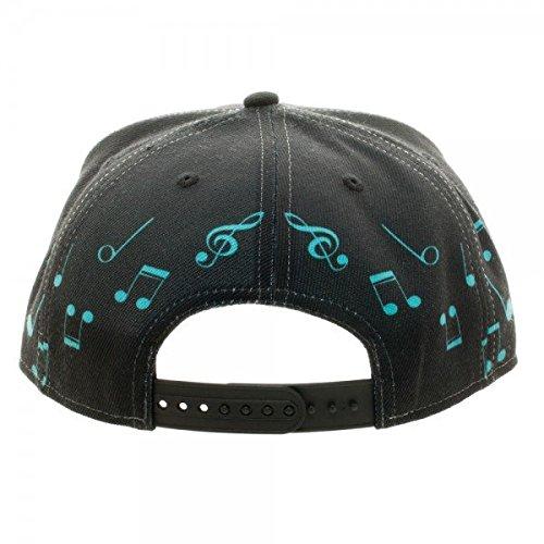 3da39477001 BIOWORLD Hatsune Miku Black Snapback Cap - Import It All