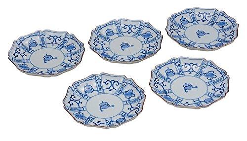 KUTANI Ware Plate Set / Color Treasure by Watou.asia