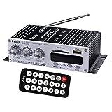 Dovewill 2CH 12V Car Mini MP3 Hi-Fi Stereo Audio Amplifier with USB/SD FM with Remote