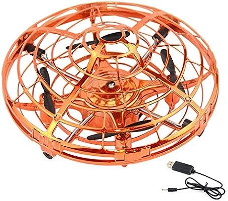 QKa Flying Fidget Spinner, Drones Operados a Mano, Drone Volador ...