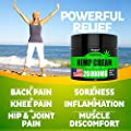 Hemp Pain Relief Cream - 20 000MG - Relieves Muscle, Joint Pain, Lower Back Pain, Knees, and Fingers - Inflammation - Hemp Extract Remedy - Hemp Oil with MSM - EMU Oil - Arnica - Turmeric Made in USA