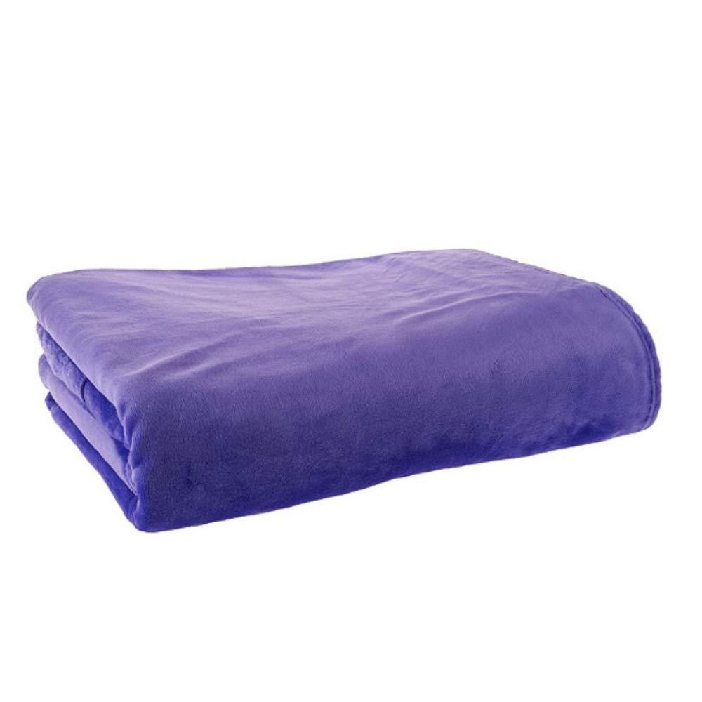 Cozi Down - プラッシュブランケット - スローブランケット - バックパックに変換 寝袋 - 大人または子供 - 60インチ x 80インチ (パープル)   B07JG9XQSB