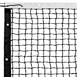 Best Net World Sports Badminton Nets - 42' Tennis Net & Winch Cable with Carry Review