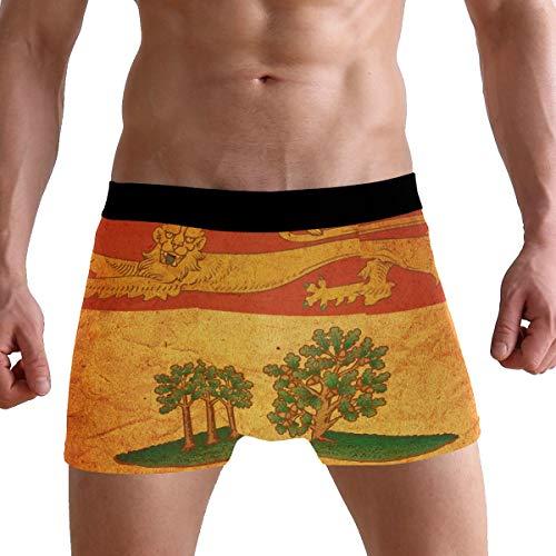 - Vintage Prince Edward Island Provincial Flag Men's Underwear Boxer Briefs