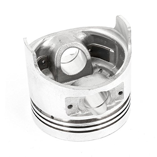 80mm Dia Silver Tone Air Compressor Generator Mower Engine Piston: