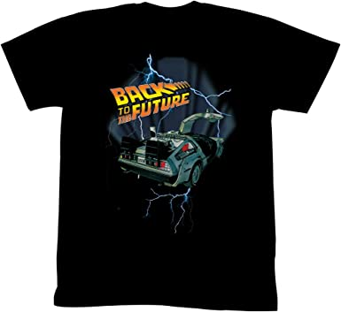 Mc Fly 88 Funny  Back To The Future  Time Travel Black Basic Women/'s T-Shirt
