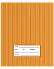 دفتر ملاحظات للاطفال مقاس S/L، 100 صفحة