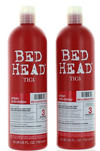 TIGI Bed Head Resurrection Shampoo/Conditioner (25.36oz) (Bed Shampoo)