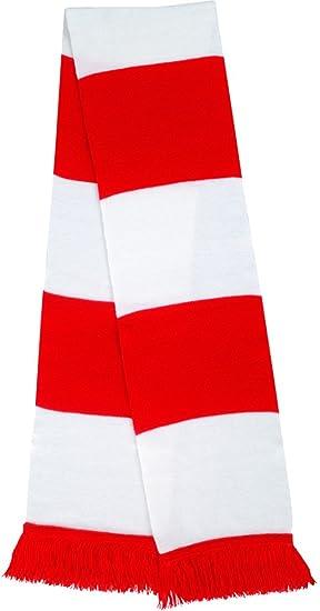 Result R146x - Bufanda para aficionados, Unisex, R146X, azul oscuro y rojo, talla única
