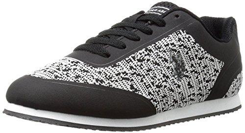 Ons Polo Assn. Womens Dames-sneakers Voor Dames, Zwart-grijs, Zwart / Grijs