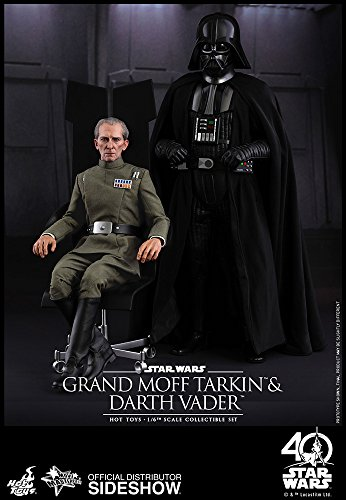 - Hot Toys Star Wars Episode IV A New Hope Grand Moff Tarkin & Darth Vader 1/6 Scale Figure Set