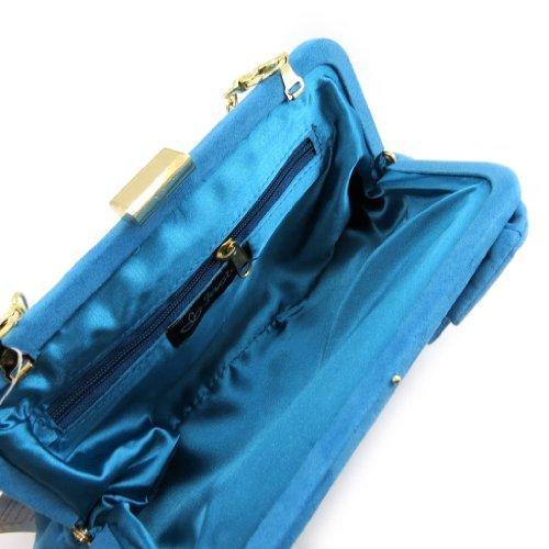 "Bursa sac ""Inès""azul."