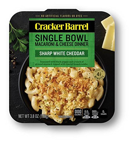 Cracker Barrel Macaroni & Cheese Single Bowl Dinner, for sale  Delivered anywhere in USA