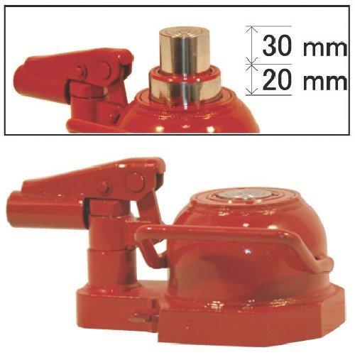 イグル 2段伸びレバ回転油圧ジャッキ能力10t ED-100TST 油圧ジャッキ B0795D8F4K