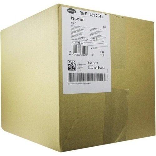 PAGASLING Mulltupfer unsteril Gr.3 pflaumengroß 1000 St Tupfer PAUL HARTMANN AG 481294