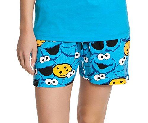 Sesame Street - Pijama - para mujer kurze Hose