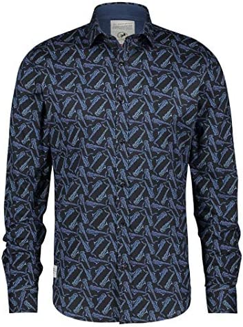 A FISH NAMED FRED Camisa saxofones Azules - Color - Azul ...