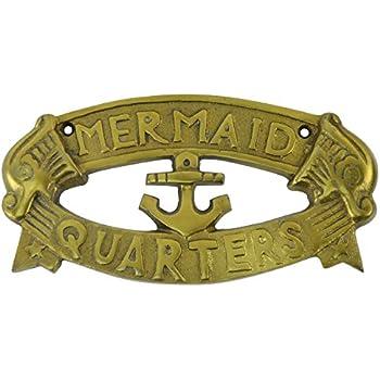 Amazon.com: 1 X CAPTAINS QUARTERS Nautical Plaque: Home & Kitchen