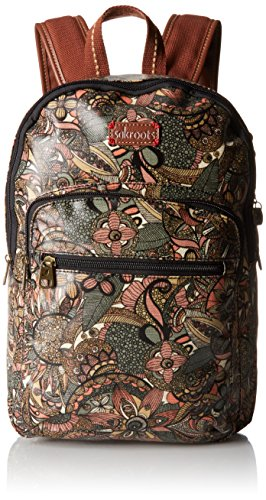 Sakroots Women's Artist Circle Mini Backpack W/Phone Charging Wristlet, Sienna Spirit Desert