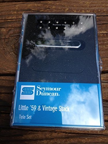 Seymour Duncan Little 59 / Vintage Stack Tele Pickup Set Telecaster 11208-33 (Nine Stack)