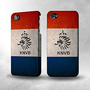 Apple iPhone 4 / 4S Case - The Best 3D Full Wrap iPhone Case - Worldcup 2014 Netherlands
