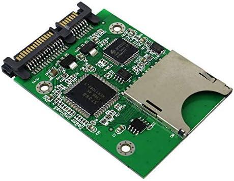 Xigeapg hc Mmc メモリカード - Sata 22Pin S ハードディスクドライブ カード- Sata アダプタ