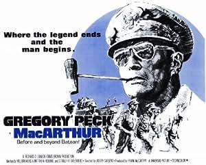 MacArthur Poster Movie 11 x 14 In - 28cm x 36cm Gregory Peck Ivan Bonar Ward (Edward) Costello Nicolas Coster Dan O'Herlihy