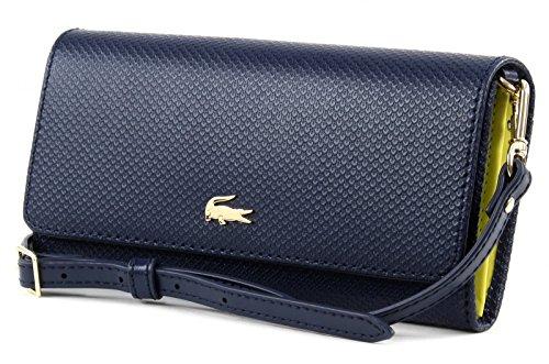 LACOSTE Chantaco Mini Crossover Wallet Peacoat Nicekicks Descuento z8E4mz