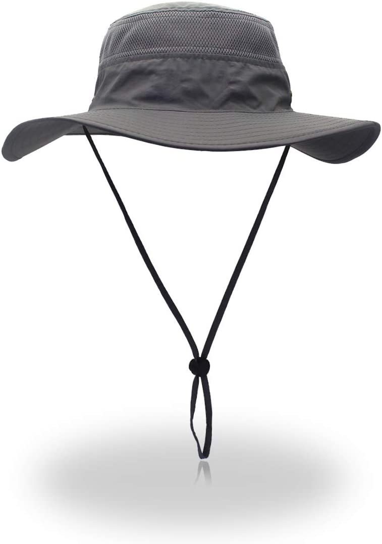 UV Protection Soleil Chapeau Ext/érieur Seau Chapeau 56-61cm EONPOW Chapeaux de P/êche Coupe-Vent UPF50