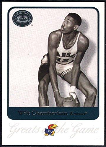 Basketball NBA 2001 Fleer Greats of the Game #75 Wilt Chamberlain