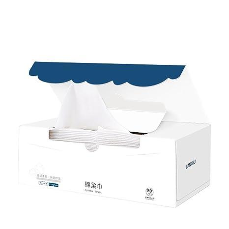Lechuang Home YX Shop® Toalla Desechable Toalla Suave De Algodón Toalla Limpiadora Toalla De Belleza
