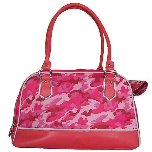 Anima Pink Camo Carrier, 16-Inch by 8-Inch by 10-Inch, My Pet Supplies