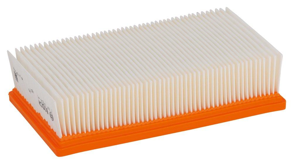 Bosch 2607432033 Filtre plissé plat en cellulose pour Gas 35-55