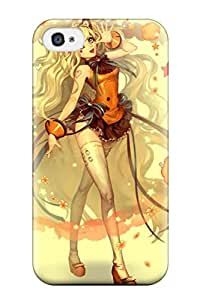 Best 7188581K417328805 longpurplepink characters Anime Pop Culture Hard Plastic iPhone 4/4s cases