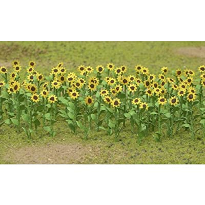 JTT Scenery Products Flowering Plants Series: Sunflowers, 2