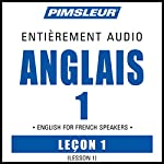 ESL French Phase 1, Unit 01: Learn to Speak and Understand English as a Second Language with Pimsleur Language Programs |  Pimsleur