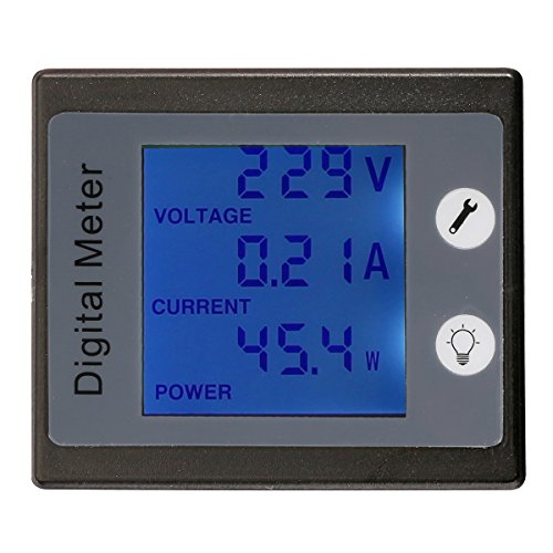bayite AC 80-260V 100A BYT-VAEM-037 Digital Current Voltage Power Energy Meter Ammeter Voltmeter with Current Transformer
